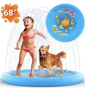 Sprinkler Pad Kids Splash Play Mat Inflatable Water Toys Outdoor Water Toys