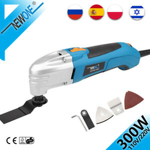 NEWONE 1.8A 6 variable speed oscillating multi tool kit with 36 accessories
