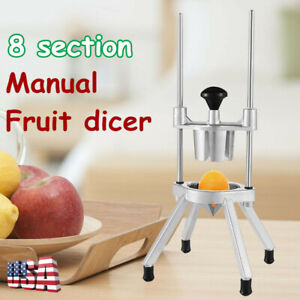 Commercial Onion Slicer With 8 Blades Stability Chili Vegetable Fruit Dicer