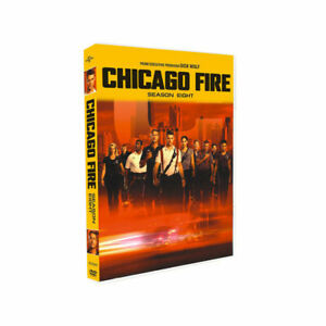Chicago Fire Season 8 DVD, 5 Disc Set USA SELLER. Free and Fast Shipping