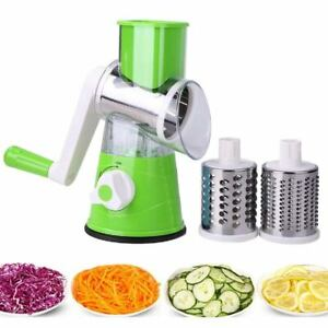 Multi-functional Manual Rotating Grater Round Slicers Chopper Vegetable Cutter
