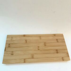 NEW Small Rectangle Shape Bamboo Cutting Serving Display Board Simple Classic