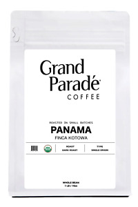 Organic Panama Dark Roast Coffee, Whole Beans or Ground | 1 lbs