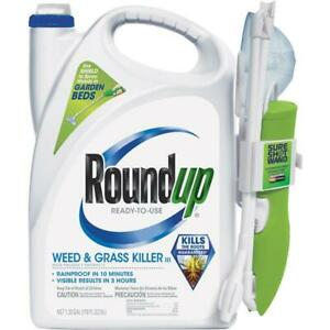 Roundup 1.33 Gal Ready To Use Wand Sprayer Weed & Grass Killer III 2 pk