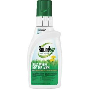 Roundup For Lawns 32 Oz. Concentrate Northern Formula Weed Killer 2 pk