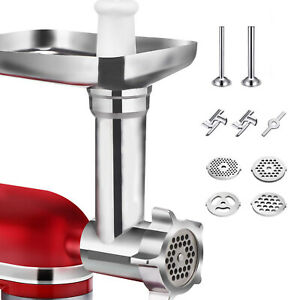 Metal Meat Grinder Attachment For KitchenAid Stand Mixers - Sturdy Mixer SM-50R