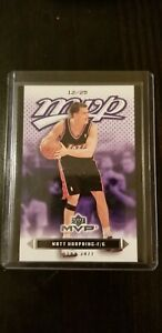 2003 04 Upper Deck MVP Matt Harpring Black Variation SSP # 25 Jazz