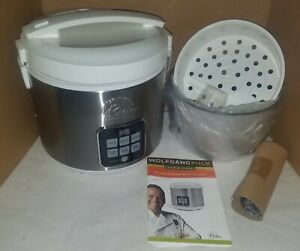 Wolfgang Puck 10 Cup Digital Multi-Cooker BDRCRD010 (White)