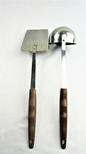 Vintage Stainless Steel Ladle and Spatula Cooking Utensils By Regent