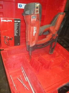 HILTI GX120 Gas Powered Fully Automatic Fast nail gun kit