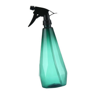 Misting Spray Bottle Plant Watering Can Trigger Sprayer Hair Fressing Green