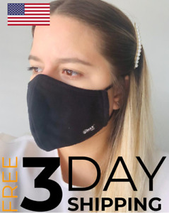 Premium Face Mask - Reusable Washable & Adjustable - Multiple Layers