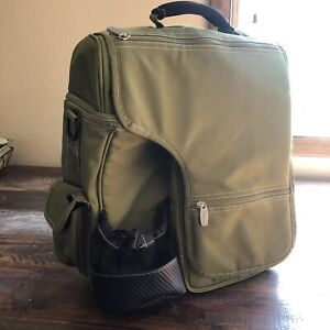 Picnic Time Insulated Backpack Cooler, Olive Green