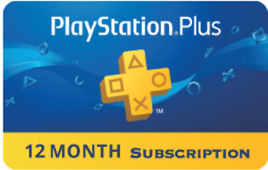 Playstation Plus 12 months Membership Code PS US CANADA