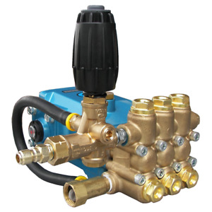 Pressure-Pro Fully Plumbed CAT 4000PSI 4 GPM Replacement Pump w Plumbing Kit...