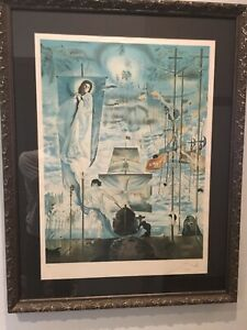 Salvador Dali Discovery of America pencil signed and numbered lithograph $3499.00