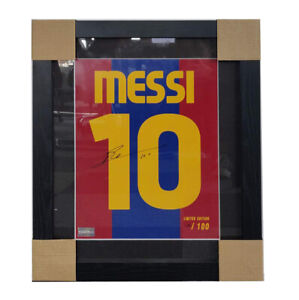 Lionel Messi signed photo with SASIGNED ICONS $1150.00