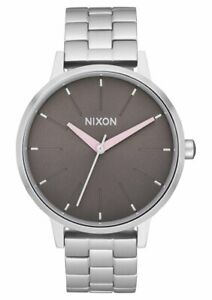 Nixon Women's Kensington A0993161 00 37mm Brown Dial Stainless Steel Watch