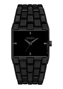 Nixon Women's Ticket A1262001 00 34mm Black Dial Stainless Steel Watch