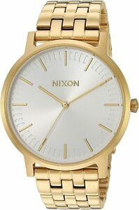 Nixon Men's Porter A10572443 00 40mm Silver Dial Stainless Steel Watch