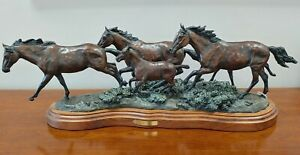 Limited Addition Bronze Horse Statue $7700.00