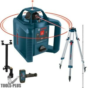 Bosch GRL245HVCK 800#x27; Dual Axis Self Leveling Rotary Laser $389.90