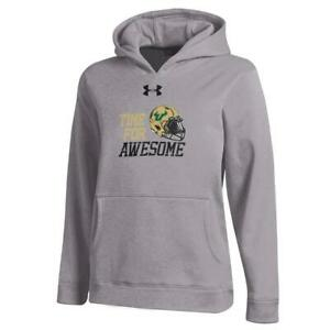 Youth Heather Gray South Florida USF Bulls Under Armour Hoodie $32.95