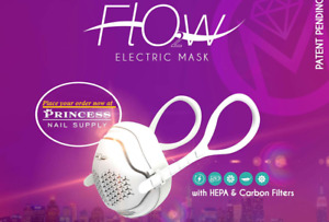 O2 Flow Electronic Air Purification Face Mask, IN STOCK - Ships from USA