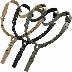 High Quality Hunting 1000D Heavy Duty One 1 Single Point Sling Swivels Shooting