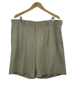 Nike Golf Mens Size 40 Beige Dry Fit Shorts Khaki Polyester Golf Causal $16.66