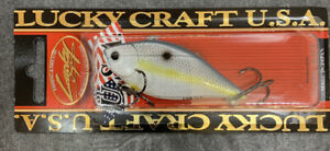 LUCKY CRAFT LVR D 7S 1 2OZ LVR Sexy Chartreuse Shad