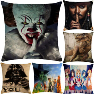 20Styles Classic Character Pillowcase Cushion Case Home Decoration Cushion Cover