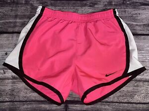 Girls Nike Dri Fit Pink Athletic Shorts Size 6X Built In $12.00