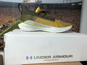 Under Armour Curry 7 Shoes. Zeppelin Yellow White Size 13 Mens BRAND NEW in box $100.00