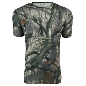 Under Armour Men's UA Tech Sportstyle T Shirt Camo Gold M $14.00