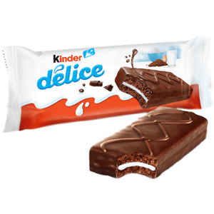 Kinder Delice, Chocolate Cake, package with 10 Pieces