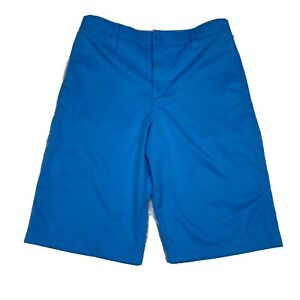 Under Armour Boys Youth Size 16 Loose Fit Heat Gear Athletic Golf Shorts Pockets $16.14