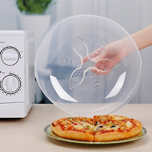 Microwave Plate Cover for Food Guard Anti-Splatter Plate Lid with Steam Vents