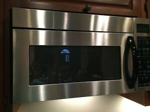 **PICK UP ONLY**GE PROFILE STAINLESS STEEL BUILT IN MICROWAVE