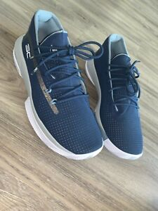 New Under Armour Curry 5's mens shoes 9.5 Navy $51.00