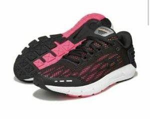 new UNDER ARMOUR UA Charged Rogue 2 JET women's 8 running shoes black pink run $44.50