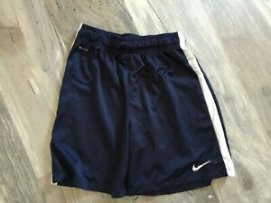 BOYS YOUTH NIKE DRI FIT SHORTS LARGE BASKETBALL LOOSE CHILDRENS BLUE $0.99