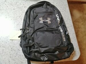 UNDER ARMOUR BACKPACK BOOKBAG NAVY AND SILVER NEW NEVER USED SMOKE FREE $35.95
