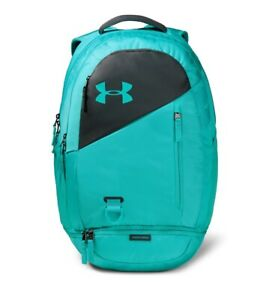 Under Armour Hustle 4.0 Backpack in Breathtaking Blue, NWT $69.99