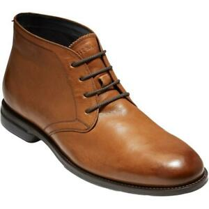Cole Haan Mens Holland Grand Leather Lace Up Dress Chukka Boots Shoes BHFO 2558 $26.99