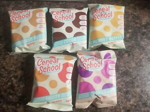 The Cereal School Sampler 5 different flavors * TRY THEM ALL* Keto,Low Carb