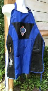 Pepsi NFL Football Tailgate Grilling Apron Adult One Size 5 Pkts Bottle Opener