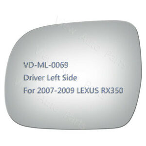 Replace Mirror GlassAdhesive for 2007 2008 2009 Lexus RX350 Driver Left Side LH $16.19