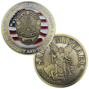 LOS ANGELES LAPD POLICE DEPARTMENT Challenge Coin 40mm 1PCS $6.99