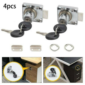 Home use Drawer Lock 4pcs/set Replacement Furniture Lock For Cabinet Door Sale